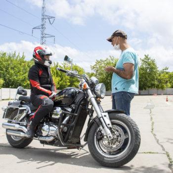 безопасное вождение, мотоцикл, тренинг